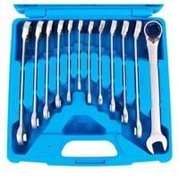 Ratschenring-Maulschlüssel Set, 8-19 mm,12-teilig, umschaltbar