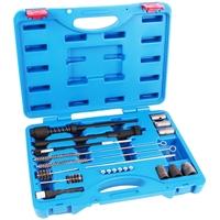 Bosch + Delphi Injektoren Werkzeug Injektor Dichtsitz Reinigung Fräser-Set