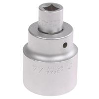 """3/4"""" Steckschlüssel Nuss 44 mm + Stecknuss Adapter 3/4"""" aussen - 1/2"""" innen Nuß"""