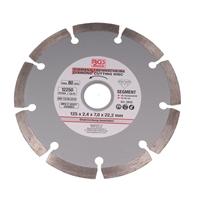 Segment-Diamant-Trennscheibe für Trockenschnitt, 125 mm