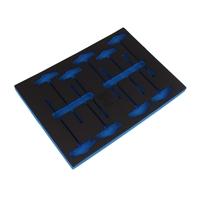 Werkstattwageneinlage für T-Griff-Steckschlüssel