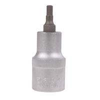 Biteinsatz 12,5 (1/2), Innen-6-kant, 53 mm lang, 4 mm