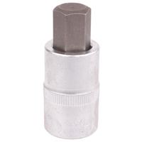 Bit-Einsatz, Innen-6-Kant, 12,5 (1/2), 53 mm lang, 14 mm