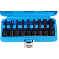 """Kraft Biteinsatz Set T20-T70, 12.5 mm 1/2"""", 9-teilig"""
