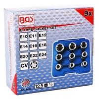 Steckschlüsseleinsätze E-Profil E10-E24