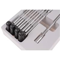 T-Griff Steckschlüsselsatz, 9-tlg