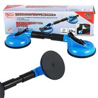 Gummi-Doppelsauger, Ø 120 mm, ABS, flexible Köpfe, Länge 390 mm