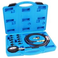 Spezial ÖL-Werkzeug Tester Universal Öldruck  Prüfer Testsatz mit 10 Adapter