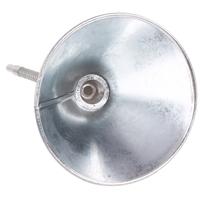 Einfülltrichter mit flexiblem Rohr und Sieb