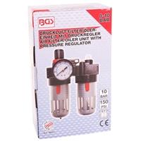 Druckluft-Filter Öler-Einheit mit Druckregler