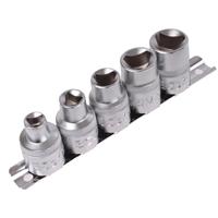 Dreikant-Einsatz-Set für Pfostenschlösser, M5 - M12 (8 - 16,5 mm), 5-tlg.