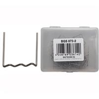 100 Reparatur-Klammern U-Form 0,8 mm
