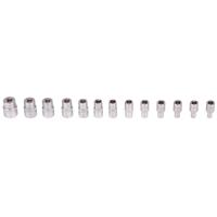 Steckschlüssel-Einsatz-Set, 6,3 (1/4), 6-kant, 4 - 14 mm, 13-tlg.