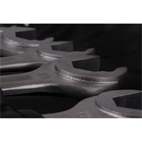 Maulringschlüssel-Satz, 8-21 mm, Maulseite mit Ratschenfunktion, 13 Teilig