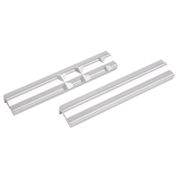 BGS Schraubstock-Schutzbacken, Aluminium, 150 mm, 2-tlg.