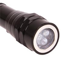 Taschenlampe ausziehbar 2 in 1 LED Leuchte mit Magnet heber Halter Handlampe BGS