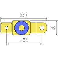Motorrad-Batterie-Trennadapter