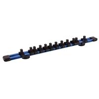 """BGS Magnet-Halteschiene für 12 Steckschlüsseleinsätze 6.3 mm - 1/4"""""""
