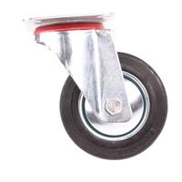 Lenkrolle 100 mm, mit Anschraubsockel