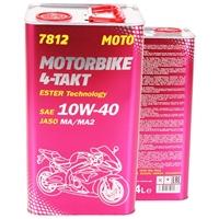 10W-40 ESTER Technology 4-Takt Motorbike, 4 Liter