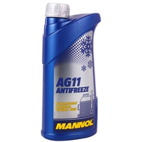 Mannol Antifreeze AG11 (- 40°C) Blau, 10x1L