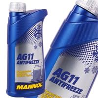 Mannol Antifreeze AG11 (- 40°C) Blau, 1L
