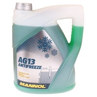 MANNOL Hightec Antifreeze AG13 -40°C, Grün, 5 Liter
