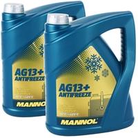 2x5 Liter Mannol Advanced Kühlerfrostschutz AG13+ -40°C