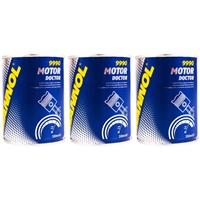 MANNOL Motor Doktor Motoröl Additiv, 3x 350 ml