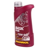 MANNOL Basic Plus, Getriebeöl, 75W-90 API GL 4+, 1 Liter