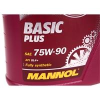 MANNOL Basic Plus, Getriebeöl, 75W-90 API GL 4+, 4 Liter
