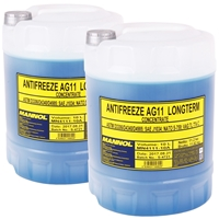 2x 10L MN4111-10 Longterm Antifreeze AG11