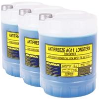 3x 10L MN4111-10 Longterm Antifreeze AG11