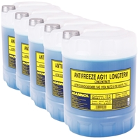 5x 10L MN4111-10 Longterm Antifreeze AG11
