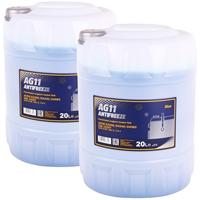 Mannol Antifreeze AG11 (- 40°C) Blau, 2x20L