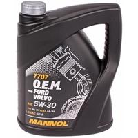 Mannol 5W-30 7707 O.E.M. für Ford Opel Volvo, 4 Liter