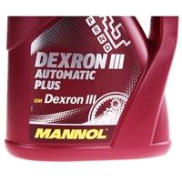 MANNOL ATF Öl Dexron III Automatik Getriebeöl Servoöl, 2x4 Liter