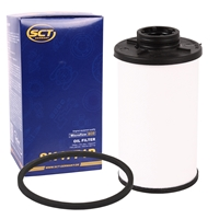 MANNOL 8202 DCT Fluid Getriebeöl, 6x 1 Liter + Getriebefilter