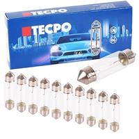 TECPO Kennzeichenleuchte, T11x38, C5W, 10 Stück