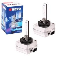 TECPO Xenon-Brenner, D1S, 12V-35W, 4300K, 2 Stück