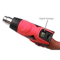 TECPO Heißluftpistole mit Digital Anzeige