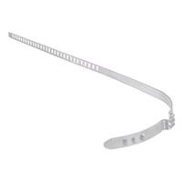 TECPO Achsmanschetten Schellen 60-124 mm, 7 mm Breit (lang), 12 Teilig