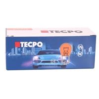 TECPO Glühbirnen Blinker 12V 21W, PY21W, BA15S, 10 Stück