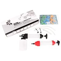 Ölspritzpumpe mit Saugfunktion und Ölabsaugpumpe (IN & OUT)