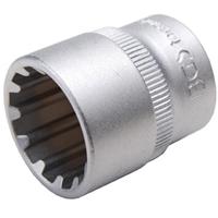 """Steckschlüssel-Einsatz """"Gear Lock"""", 10 (3/8), 18 mm"""