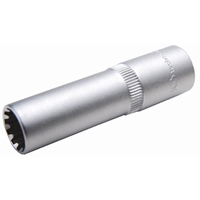 """Steckschlüssel-Einsatz """"Gear Lock"""", 10 (3/8), tief, 15 mm"""