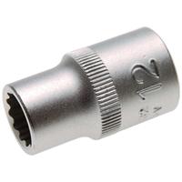 Steckschlüssel-Einsatz 12-kant, 12,5 (1/2), 12 mm