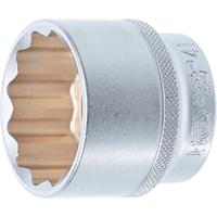 Steckschlüssel-Einsatz Zwölfkant 1/2 Zoll, SW 41 mm