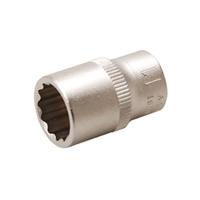 Steckschlüssel-Einsatz, 6,3 (1/4), 12-kant, 11 mm