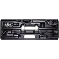 Ausbeulsatz Ausbeulhammer Ausbeul Werkzeug 11-tlg. mit Gleithammer zum Ausbeulen